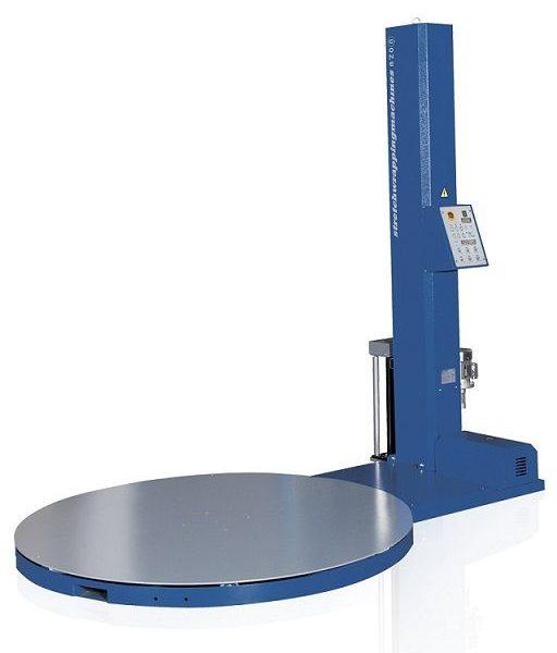 Félautomata strechfóliázó gép